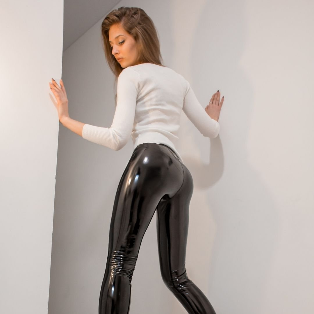 Shiny-leggings